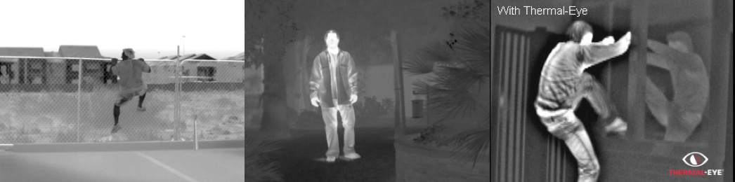 Palm IR 250 Thermal Imaging Camera images