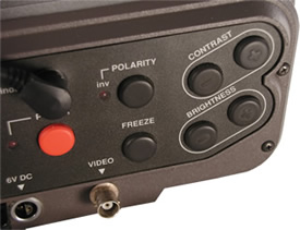 IR210 thermal energy audit camera buttons