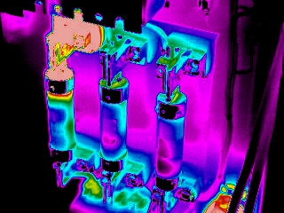 IR5100 FLIR thermal imaging camera color image
