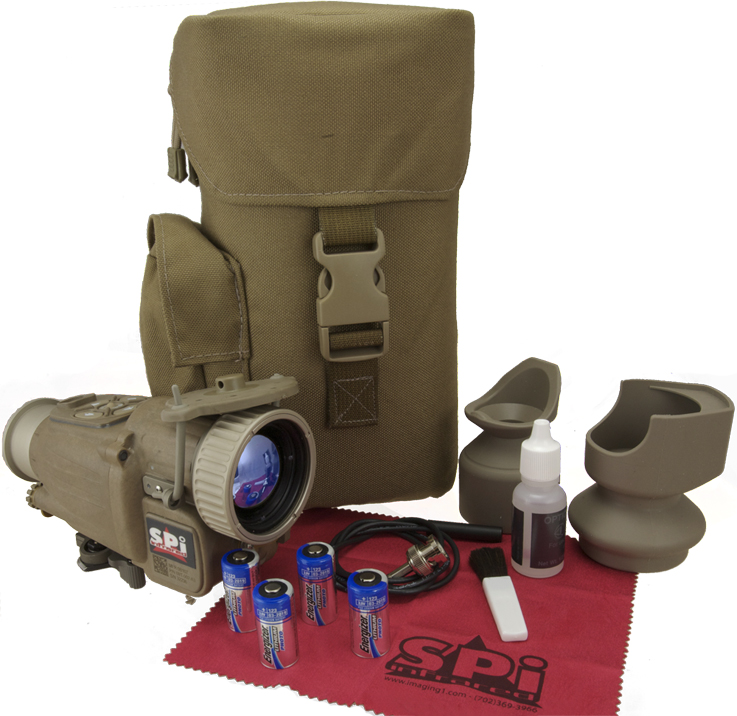 COTS clip on thermal scope kit