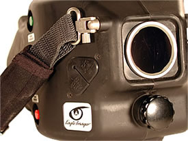 Eagle firefighting thermal imager front view
