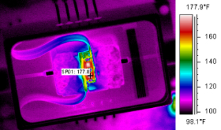 Electronics manufacturing infrared thermal profiling