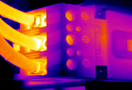 infrared inspection with the EPM IR thermal imager