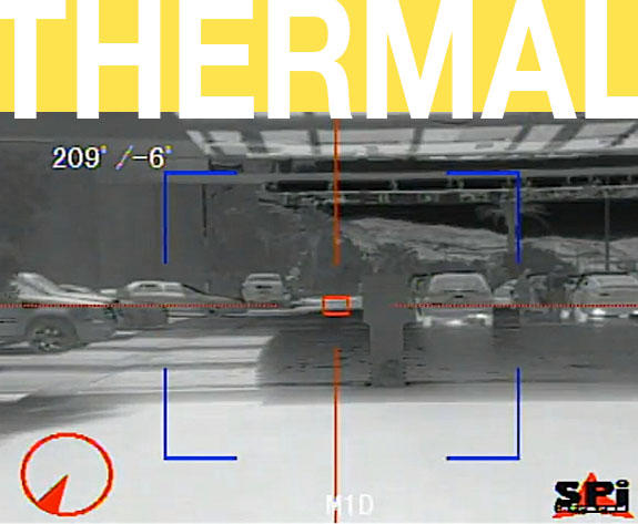 thermal footage from the M1D