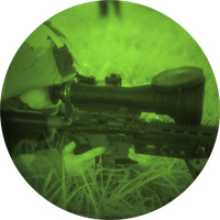 CSWS crew served night vision scope