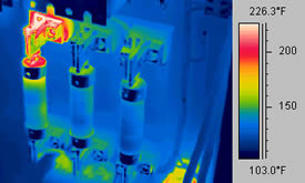 fuse audit with the infrared thermography camera