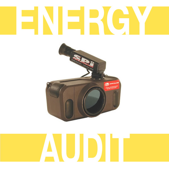 IR210 Thermal Energy Audit Camera