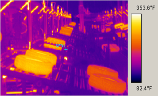 tire manufacturing facility process thermal infrared automat